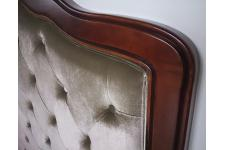 Tête de Lit Tête de lit 160 taupe en bois San Salvador, deco design