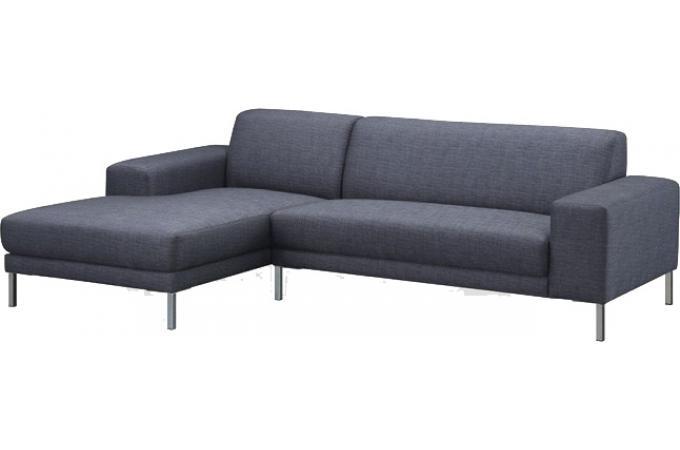 canap d 39 angle gauche gris fonc en tissu bill canap d 39 angle pas cher. Black Bedroom Furniture Sets. Home Design Ideas