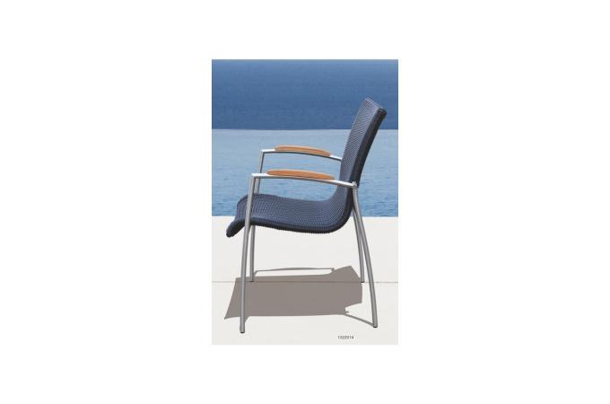 Table et chaises marrons en teck ad le fauteuil et chaise de jardin pas cher - Table et chaise en teck ...
