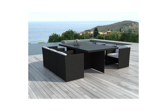 Table et chaise de jardin en resine - Chaise de jardin en resine pas cher ...