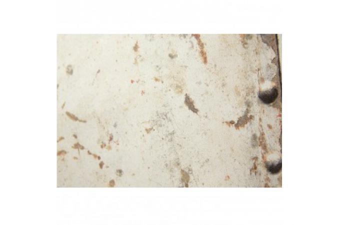 Papier peint blanc rouille en vinyle philippe papier peint bois m tal - Papier peint vinyle pas cher ...