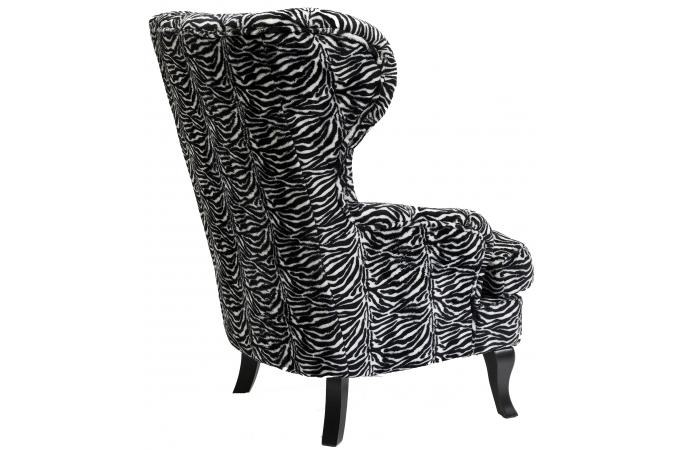 fauteuil oreilles kare design zebra fauteuil design pas cher. Black Bedroom Furniture Sets. Home Design Ideas