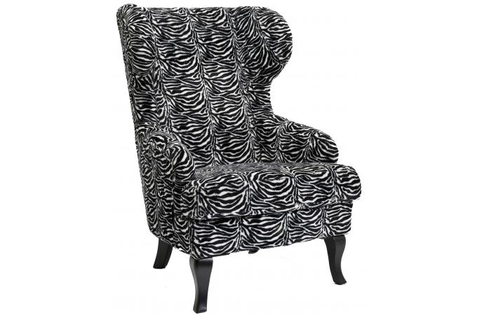 fauteuil oreilles zebra fauteuil design pas cher. Black Bedroom Furniture Sets. Home Design Ideas