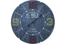 Horloge Design Horloge murale Kare Design Family bleu 105cm, deco design