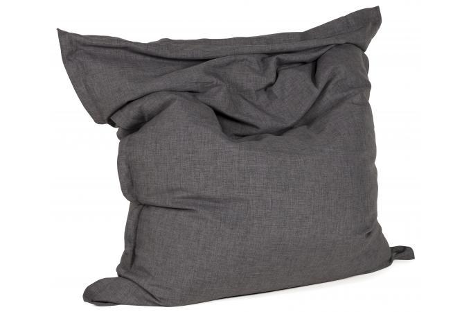 pouf gris fonc en tissu r mus pouf design pouf g ant. Black Bedroom Furniture Sets. Home Design Ideas
