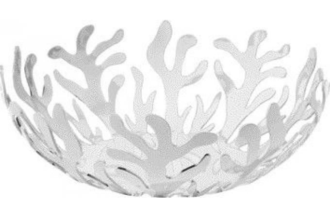 corbeille de fruits blanche design en acier corbeille plateau pas cher. Black Bedroom Furniture Sets. Home Design Ideas