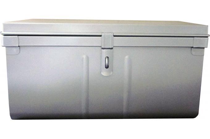 malle de rangement m tal 57x41 cm alu bo te de rangement pas cher. Black Bedroom Furniture Sets. Home Design Ideas