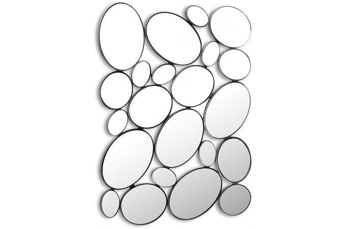 Miroir mural gouttes miroir rond et ovale pas cher - Petit miroir rond pas cher ...