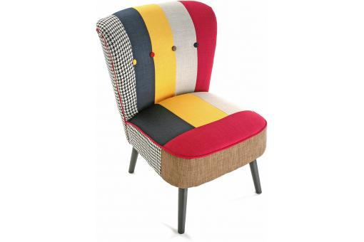 Fauteuil Patchwork SOLID