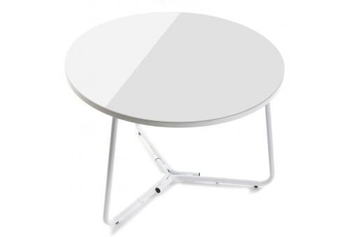 Table d'Appoint Ronde Blanche DAYTON