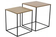 Table d'Appoint Set De 2 Chevets Miles Laiton, deco design