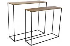 Table d'Appoint Set 2 Consoles Miles Laiton, deco design