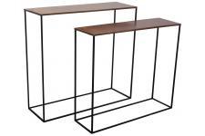 Table d'Appoint Set 2 Consoles Miles Cuivre, deco design