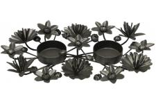 Centre De Table Frida Nickel - Corbeille dessous de plat design