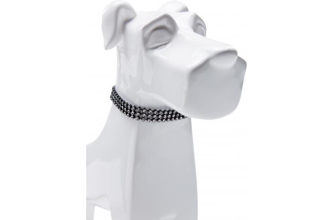 d co figurine dog necklace 26cm assorti statue design pas cher. Black Bedroom Furniture Sets. Home Design Ideas