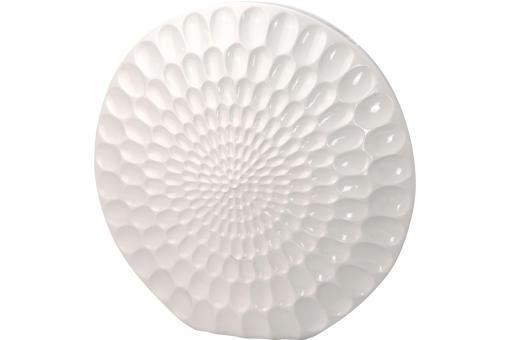 vase polyresine blanc h43 vase pas cher. Black Bedroom Furniture Sets. Home Design Ideas