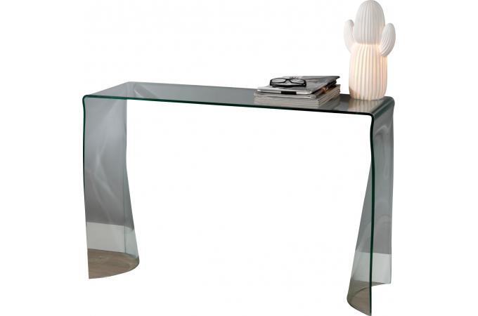 console en verre 110 x 72 x 35 cm table console pas cher. Black Bedroom Furniture Sets. Home Design Ideas