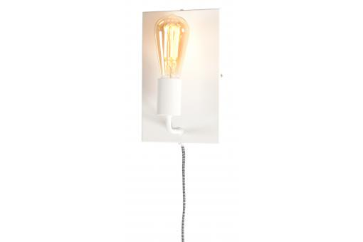 Applique Murale en Fer Blanc MADRID - Lampe design