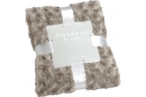 plaid pour enfants amadeus taupe d co enfant pas cher. Black Bedroom Furniture Sets. Home Design Ideas