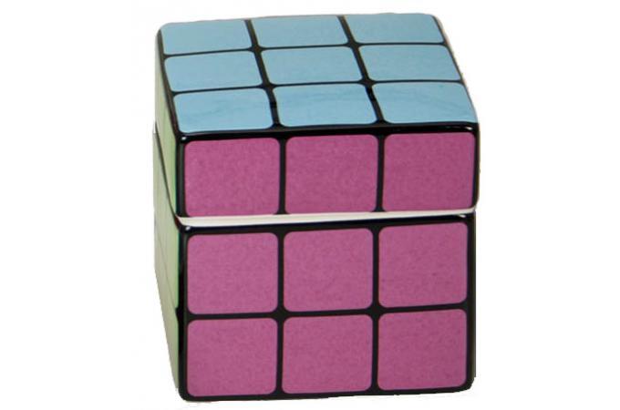 boite cotons rubik 39 s cube accessoires cuisine sali re gant pas cher. Black Bedroom Furniture Sets. Home Design Ideas