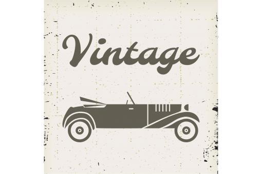 tableau retro voiture vintage 80x80 tableau baroque pas cher. Black Bedroom Furniture Sets. Home Design Ideas