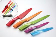 Ménagère Set de 5 couteaux colorés en résine, deco design