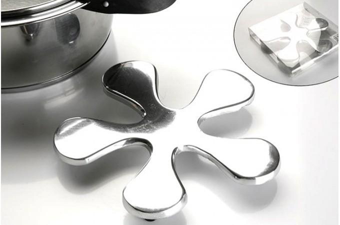 dessous de plat argent margarita accessoires pas cher. Black Bedroom Furniture Sets. Home Design Ideas