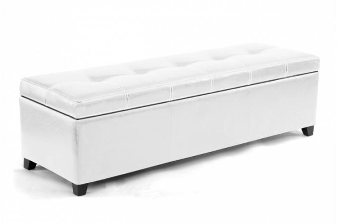banquette coffre blanc pas ch re. Black Bedroom Furniture Sets. Home Design Ideas