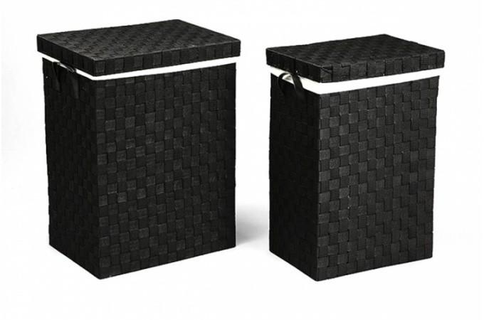 panier linge grand choix de paniers linge design pas cher page 1. Black Bedroom Furniture Sets. Home Design Ideas