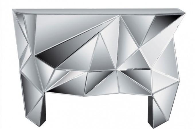 console miroir diamond console pas cher. Black Bedroom Furniture Sets. Home Design Ideas