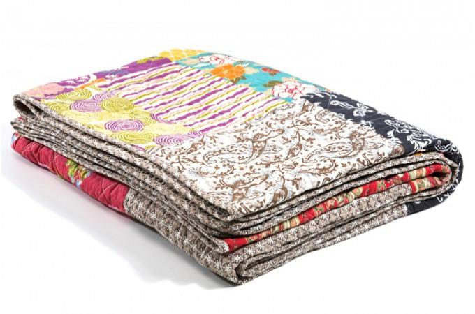 mobilier table plaid coton pour canap. Black Bedroom Furniture Sets. Home Design Ideas