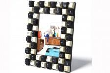 Cadre photo Kare Design Clavier clavier blanc et noir, deco design