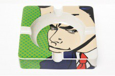 Cendrier Pop Art Gentleman - Cendrier design