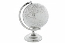 Globe Colonial en Alu Terra - Collection deco orientale