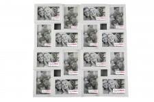 Cadre Multi Photos Blanc Olly - Idee cadeau cremaillere