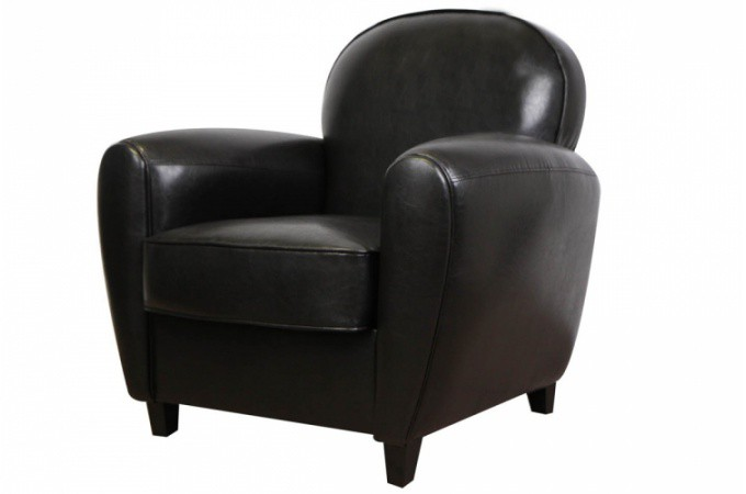 canap club noir 2 places broadway canap 2 places pas cher. Black Bedroom Furniture Sets. Home Design Ideas