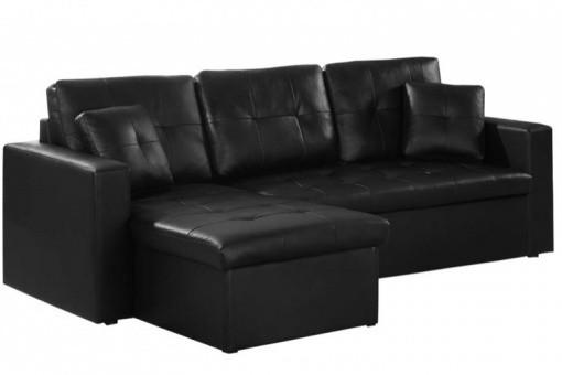 Canapé dangle modulable et convertible simili cuir noi