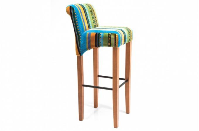 Chaise de bar en tissu color pas ch re - Chaises design pas chere par quatre ...