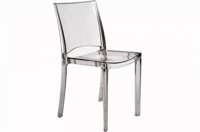 lot de 2 chaises transparente crystal - chaises design pas cher - Chaises Pas Cheres