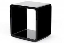 Chevet Design Cube Noir Laqué , deco design