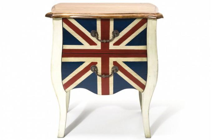 Table de chevet design chevet baroque laqu table d - Table de chevet en anglais ...