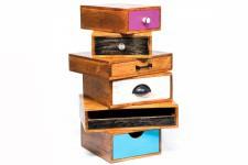 Commode Commode à 6 tiroirs Kare Design multicolores Caméléon 60 cm, deco design