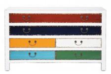Commode Commode Arlequin Kare Design 6 tiroirs, deco design