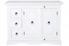 Commode Commode en bois Kare Design 3 tiroirs blanche Antika, deco design