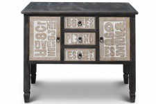 Commode en bois Pharaon - Commode design