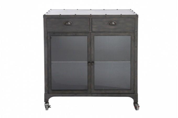 commode industrie en fer pas ch re. Black Bedroom Furniture Sets. Home Design Ideas