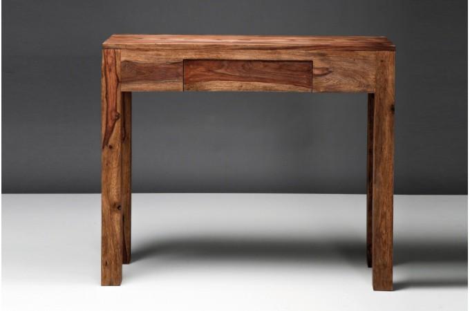 Console en bois pinia consoles pas cher declik deco for Console meuble design