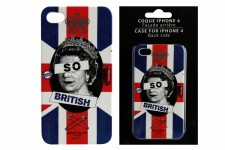 Coque Iphone 4 et 4S British Queen - Deco meuble british