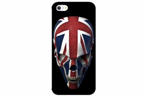 Coque Iphone 5 Crâne British