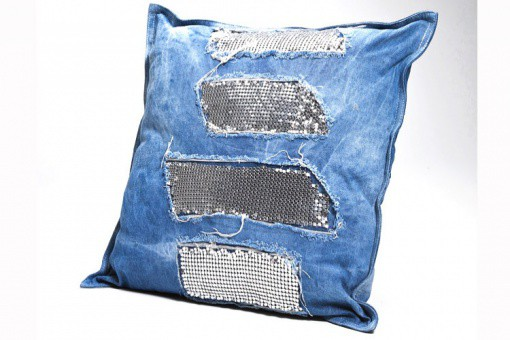 KARE DESIGN - Coussin Jeans Glams 45X45